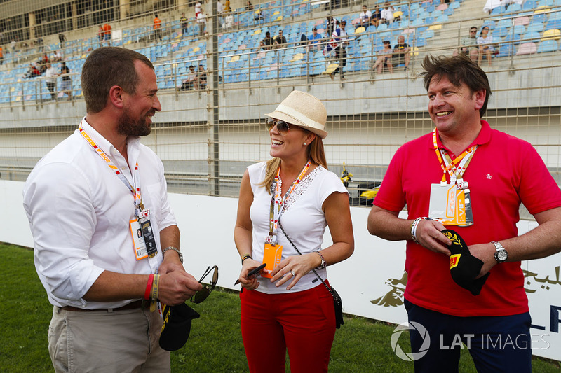 TV Chef and Presenter James Martin after his F1 Pirelli Hot Laps experience
