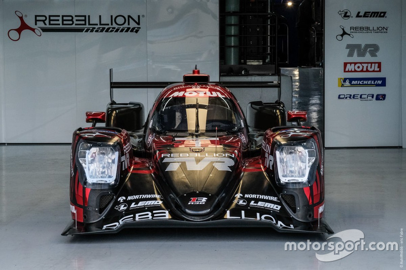 (LMP1) #3 Rebellion Racing Rebellion R-13: Mathias Beche, Thomas Laurent, Gustavo Menezes