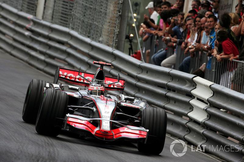 Fernando Alonso: McLaren (2007 y 2015-2018)