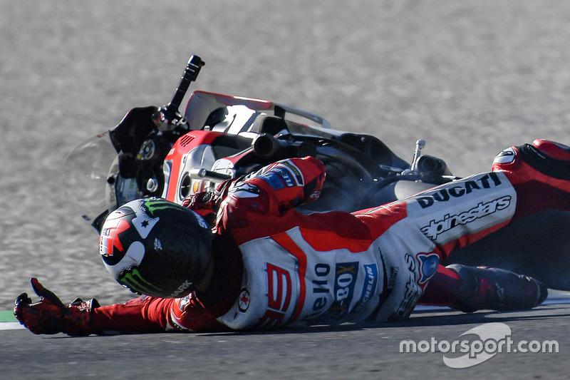 Caída de Jorge Lorenzo, Ducati Team