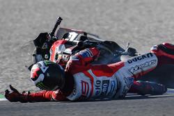Chute de Jorge Lorenzo, Ducati Team