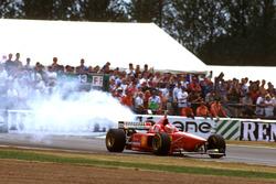Eddie Irvine, Ferrari F310 rompe el motor