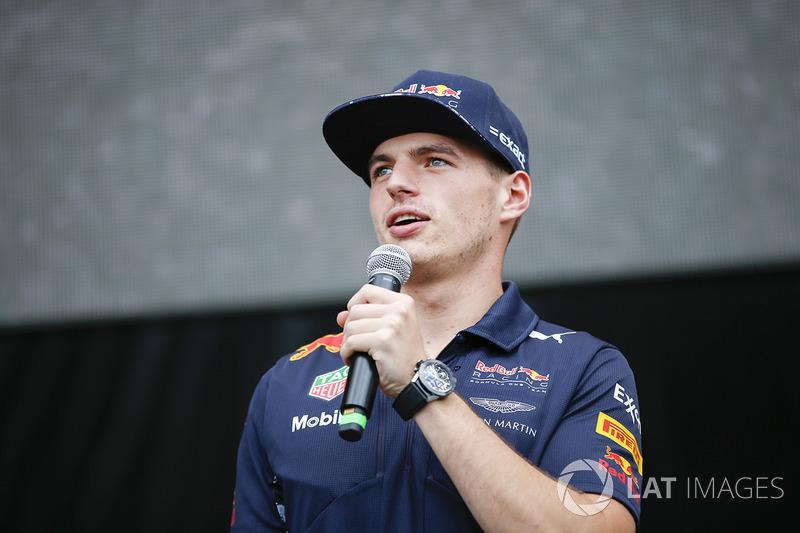 Max Verstappen, Red Bull, en el escenario F1