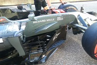 Haas F1 Team VF-17  nuovo barge board