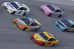 Brad Keselowski, Team Penske Ford Joey Logano, Team Penske Ford Ricky Stenhouse Jr., Roush Fenway Racing Ford