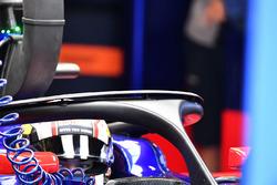 Pierre Gasly, Scuderia Toro Rosso STR12 halo