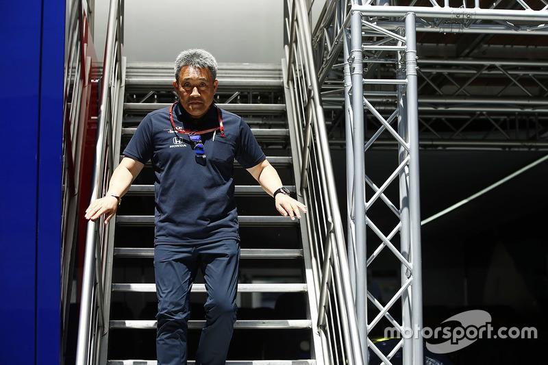 Masashi Yamamoto, manager de Honda Motorsport