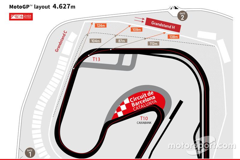 Nueva escapatoria Circuit de Barcelona-Catalunya 2018