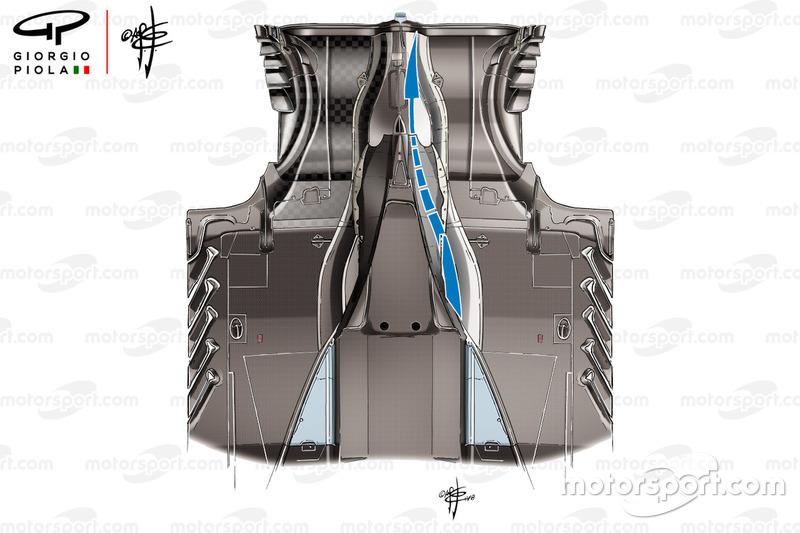 تفاصيل أرضية سيارة فيراري اس.اف71اتش