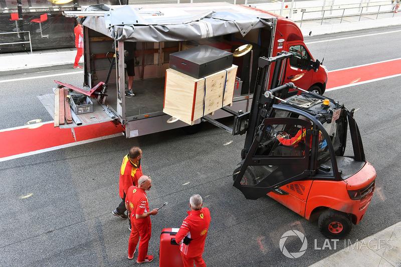 Оборудование Ferrari