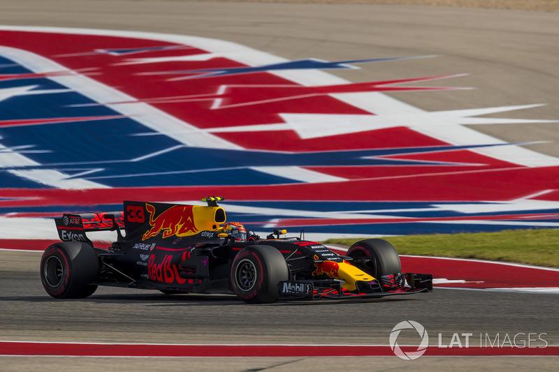 Max Verstappen - GP dos EUA de 2017