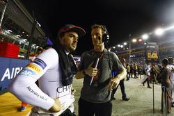 Fernando Alonso, McLaren con su ingeniero