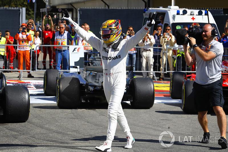 Indiscutible ganador Lewis Hamilton