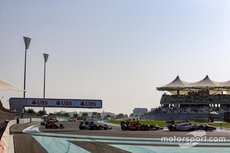 Nobuharu Matsushita, ART Grand Prix, Antonio Giovinazzi, PREMA Racing