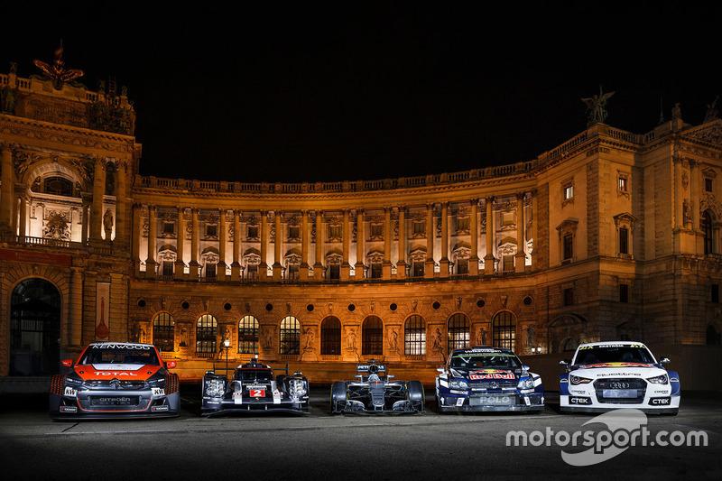 Citroën C-Elysee WTCC, Citroën World Touring Car team, Porsche 919 Hybrid, Porsche Team, Mercedes AM