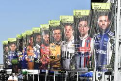 Fahnen: Teilnehmer der Round of 12 der NASCAR-Playoffs 2017