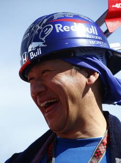 A Scuderia Toro Rosso fan