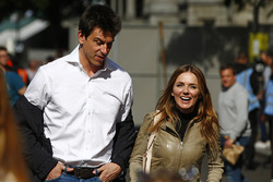 Toto Wolff, Executive Director Mercedes AMG F1 , Geri Horner