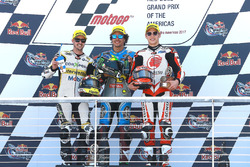 Podium: 1. Franco Morbidelli, Marc VDS; 2. Thomas Lüthi, CarXpert Interwetten; 3. Takaaki Nakagami, Idemitsu Honda Team Asia