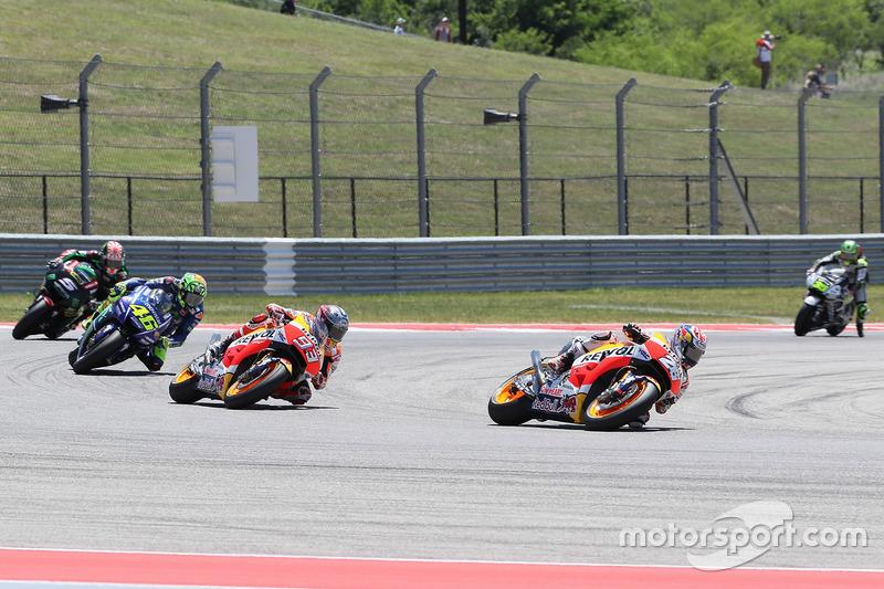Dani Pedrosa, Repsol Honda Team, Marc Marquez, Repsol Honda Team, Valentino Rossi, Yamaha Factory Ra
