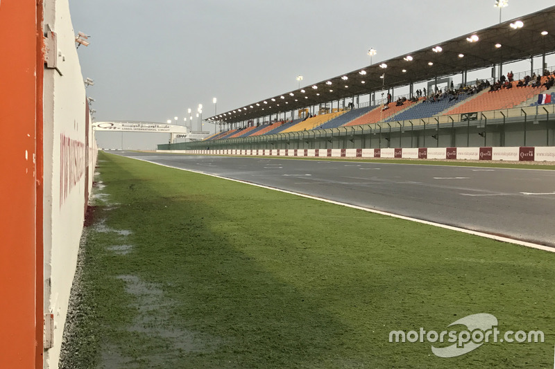 Lluvia en Qatar