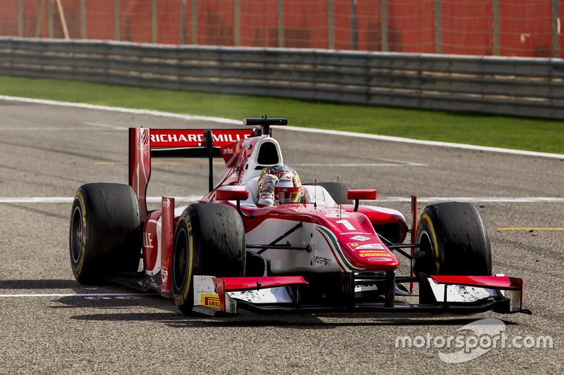 Charles Leclerc, PREMA Racing takes the win