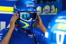 Team Suzuki MotoGP mechanic