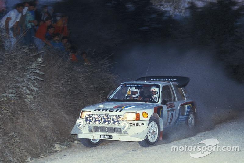 Bruno Saby, Jean-François Fauchille, Peugeot 205 Turbo 16