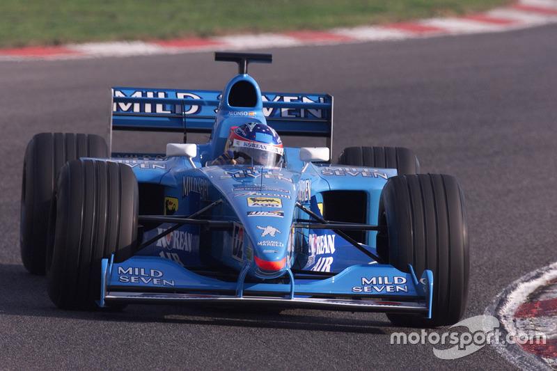 Benetton B200 (2000) (Test)