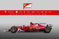 The Ferrari SF70H