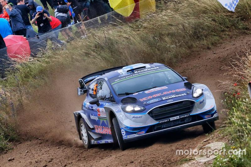 Teemu Suninen, Mikko Markkula, M-Sport, Ford Fiesta WRC
