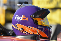 Helmet of Denny Hamlin, Joe Gibbs Racing Toyota