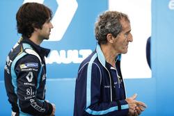 Nicolas Prost, Renault e.Dams, and Alain Prost