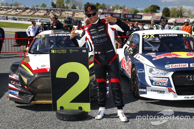 Second place Timo Scheider, MJP Racing Team Austria, Ford Fiesta ST