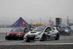 Attila Tassi, M1RA, Honda Civic TCR; Ferenc Ficza, Zele Racing, SEAT León TCR