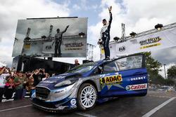 Les vainqueurs Ott Tänak, Martin Järveoja, Ford Fiesta WRC, M-Sport