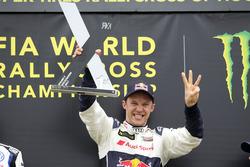 Podium: Mattias Ekström, EKS, Audi S1 EKS RX Quattro
