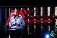Chase Carey, CEO, Formula One Group, Petronas barbeküsünde