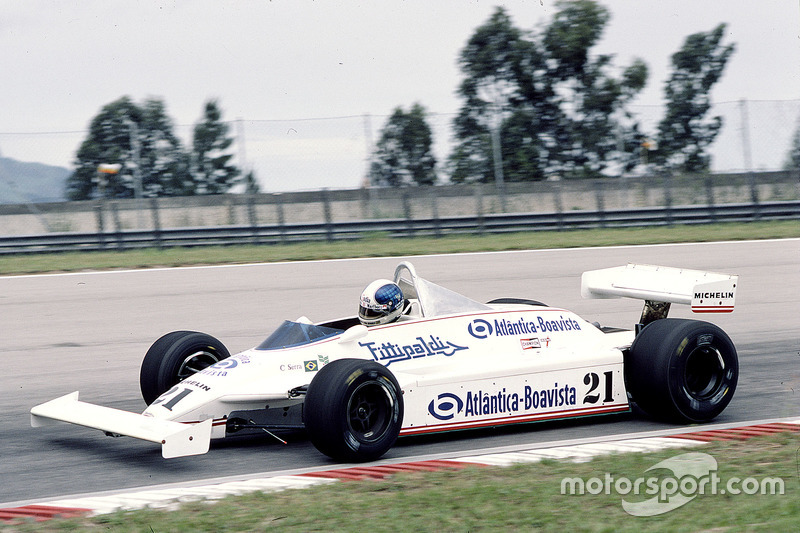 Chico Serra, Fittipaldi F8C Ford