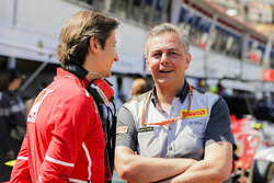 Massimo Rivola, Sporting Director, Ferrari, Mario Isola, Racing Manager, Pirelli Motorsport