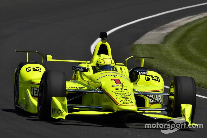 #1 Simon Pagenaud, Menards / Chevrolet