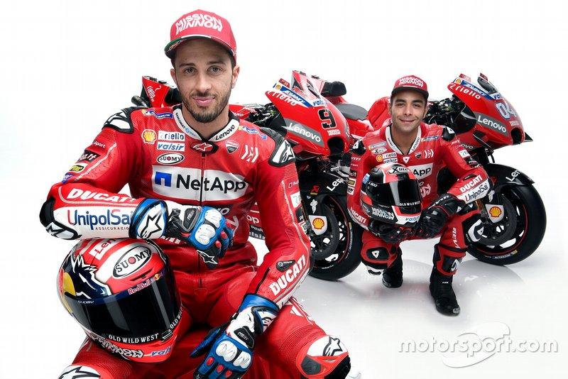 Andrea Dovizioso, Ducati Team; Danilo Petrucci, Ducati Team