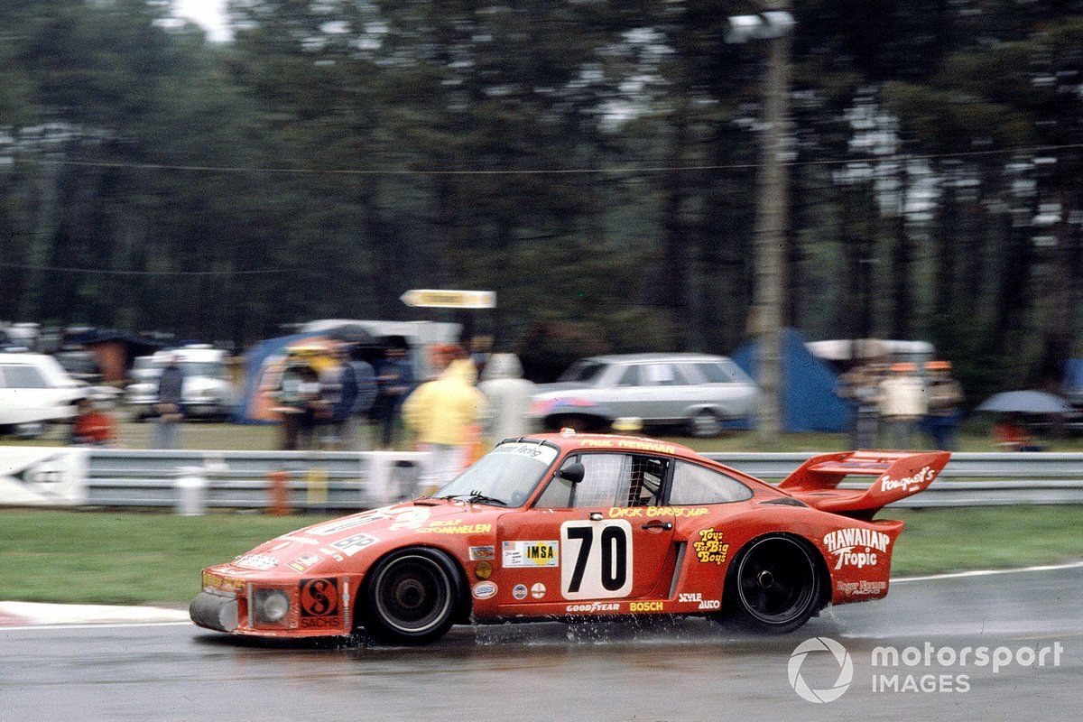 #70 Dick Barbour Racing Porsche 935: Dick Barbour, Paul Newman, Rolf Stommelen