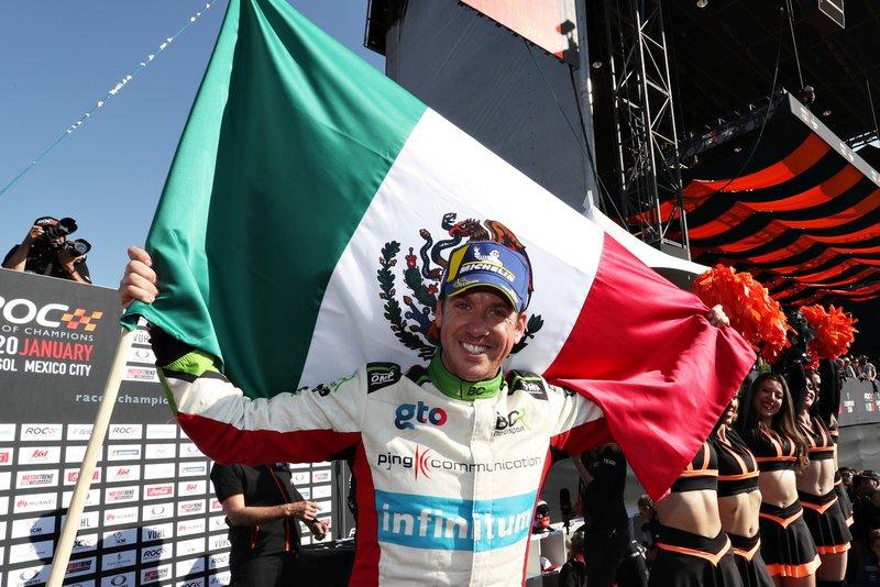 Campeón de la Race of Champions 2019: Benito Guerra (MEX)