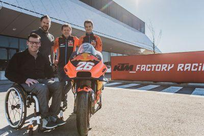 Presentazione Dani Pedrosa KTM