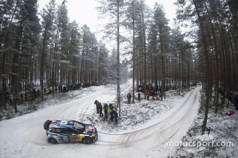 #7: Volkswagen Polo R WRC: Andreas Mikkelsen und Anders Jäger