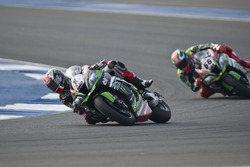Jonathan Rea, Kawasaki Racing Team en Tom Sykes, Kawasaki Racing Team