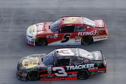 Ty Dillon, Richard Childress Racing Chevrolet Michael Annett, JR Motorsports Chevrolet