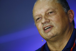 Frederic Vasseur, Sauber Team Principal, in the  FIA press conference