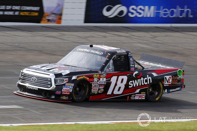 Noah Gragson, Kyle Busch Motorsports Toyota at Gateway